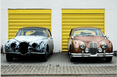 Old Jaguar Cars