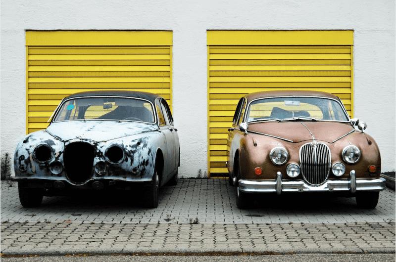 Restored Jaguar