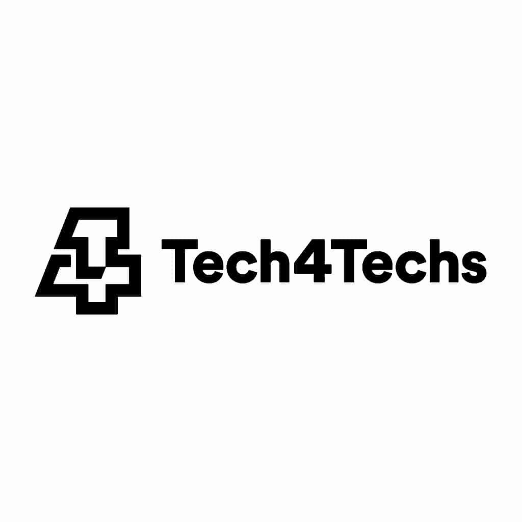 Tech4Techs Logo Black