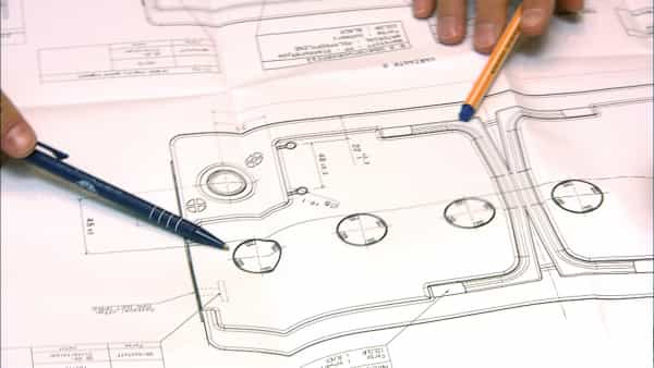 Banner Technical Drawing