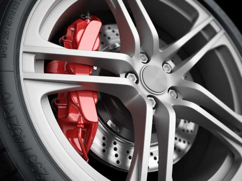 Wheel And Brakes