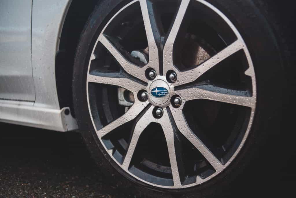 Subaru Wheel And Brakes