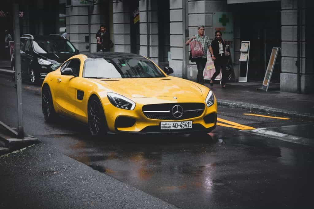Mercedes AMG GT Car