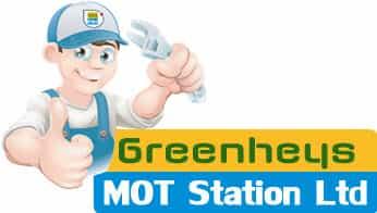 Greenheys MOT Station Logo