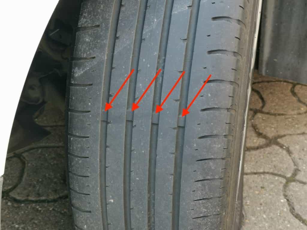 Tyre Wear Marker