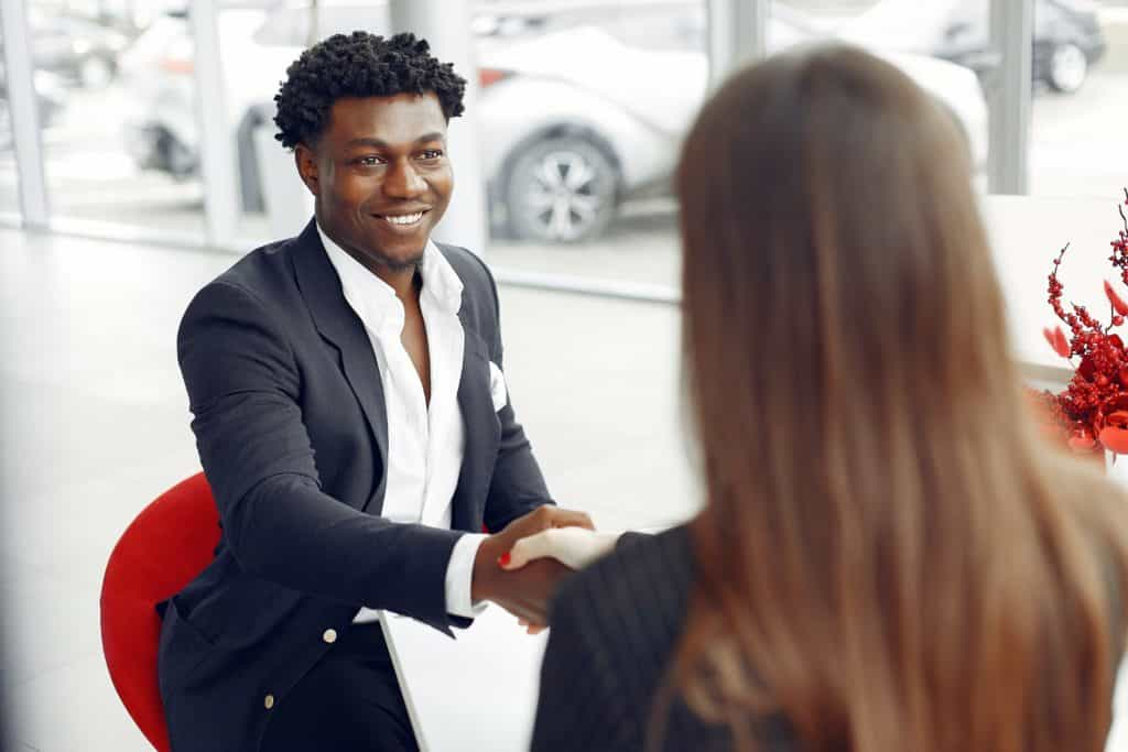 sealing car buying deal