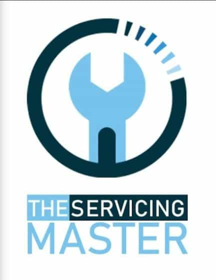 The Servicing Master Logo