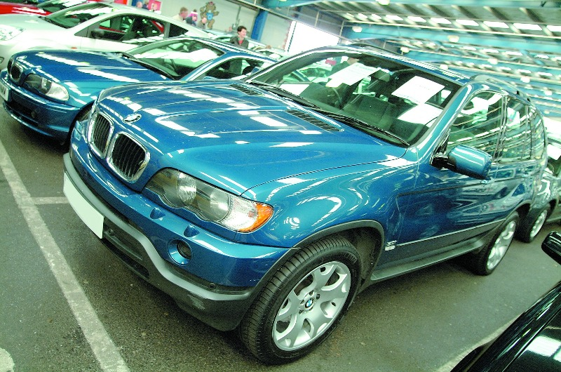 x5 at auction